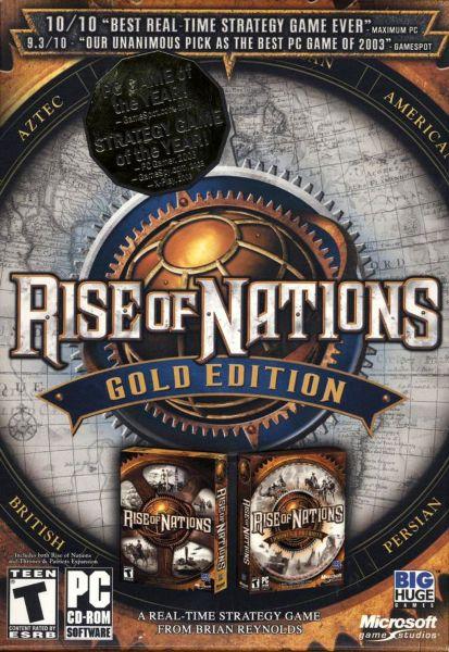 Rise of Nations. Золотое издание / Gold Edition (Новый диск) (ENG+RUS) [L]